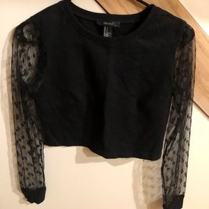 Forever 21 crop top Sz S